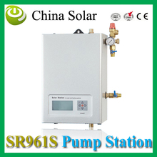 China Solar Solar pump work station  SR961s double pipes for Split pressurized hot water  system
