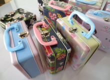 Size: 158x138x65mm lunch box/lunch tin box with 2 artworks/gift packing box/storage metal box(China)