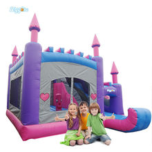 Cheap Inflatable Dry Slides Bouncy Castle Slide For Boys And Girls