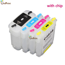 5SETS for HP10 hp11 empty refillable Ink cartridge for Business Inkjet 1300 cp1700 OfficeJet 850 850dn 9100 9110 9120 9130