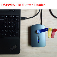 DS1990A ТМ iButton Reader USB Plug and Play Reader + 2 шт. TM1990A-F5 ключ карты(China)
