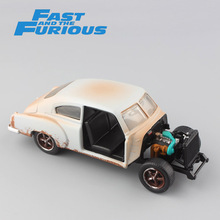 1 32 Scale mini jada Dom's Chevy Fleetline 1951 FAST FURIOUS metal diecast model old race cars vintage rusty toys for children