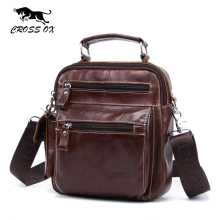 CROSS OX 2017 Summer New Arrival Genuine Leather Men's Messenger Bag Shoulder Bags For Men Cross Body Bags iPad Holder SL397M