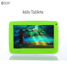 Original 7 Inch Android4.4 Tablets Pc Blue Red Green Bluetooth Installed Best gifts for Children Rubber sheath cover Quad Core