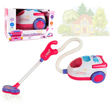 Girls Play House Toys Simulation Children With Vacuum Cleaner Tool Hygiene Appliances Cleaners Furniture Play Educational TY0147