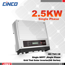 GW2500-NS On grid inverter 2.5kw 230v 50/60HZ,Grid teid power inverter for solar home system project  connected the grid