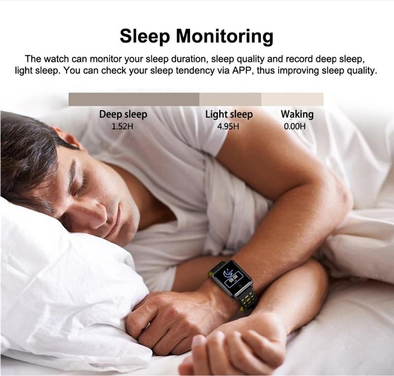 4 pc Smart Bracelet N88 Waterproof Heart Rate Blood Pressure Monitor Smartwatch Bracelet For Android IOS Xiaomi Phone