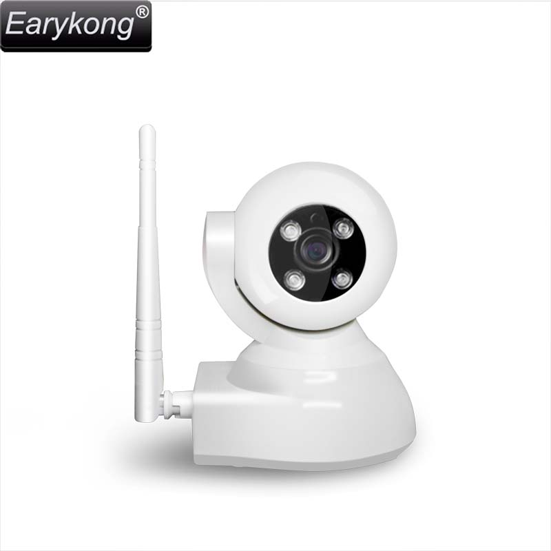 NEW Earykong Network Wifi Camera, Support Connect 433MHz remote controller &amp; door detector &amp; infrared detector, Android IOS APP <br>