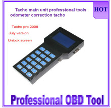 2016  professional the first rated Tacho Pro only main unit odometer Tacho Universal 2008 programmer brand quality Tacho pro