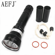 10000lm 4* XM-L2 U2 LED Waterproof Underwater 100M Dive Diving Flashlight Torch Lamp Light 3-Mode use 18650 or 26650(China)