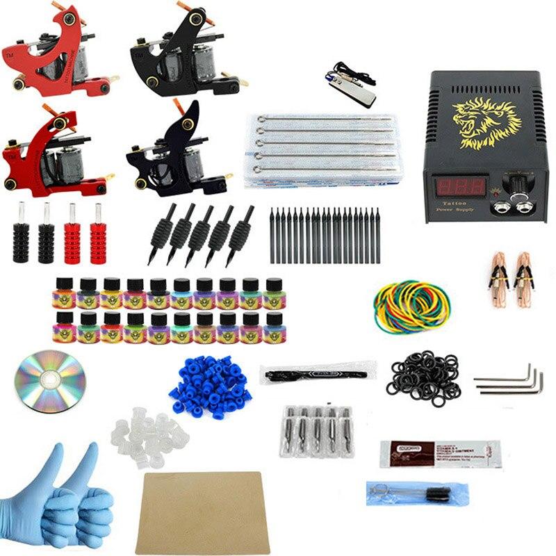 ITATOO Tattoo Kit Cheap Tattoo Machine Set Kit a Pen Tattooing Ink Machine Gun Supplies For Jewelry Weapon Professional PX110006<br><br>Aliexpress