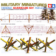 OHS Tamiya 35027 1/35 Barricade Set Assembly Military Miniatures Model Building Kits(China)