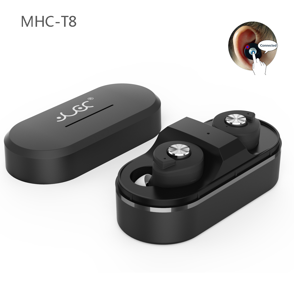 MHC T8 Mini Wireless Earphone Headphones Bluetooth Earphones Earbuds Stereo Headset Auriculares Bluetooth 4.1 Dual Ear<br>