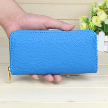 2017 Fashion women wallet candy color PU leather wallet long Ladies clutch coin purse casual handbag Carteira Feminina Ulrica