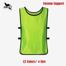 12 Colors Ultra-Light Breathable Quickly Dry Training Soccer Jerseys Football Basketball Team Vest 2016 2017 New Training Shirt(China)