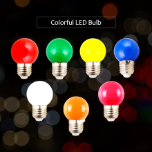 Bombillas Led Energy Saving Lamp E27 220V 3W Colorful Screw Wedding Decoration Led Bulb Home Decor Lighting Bubble Party Light(China)