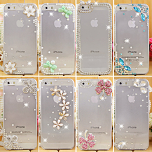 hot sale rhinestone crystal diamond case cover for Iphone 5c, hard back skin protective iphone 5c case cover