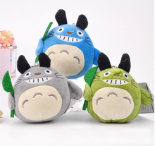 New Totoro plush toys car accessories  plush Totoro sucker pendant dolls  baby toy home decor