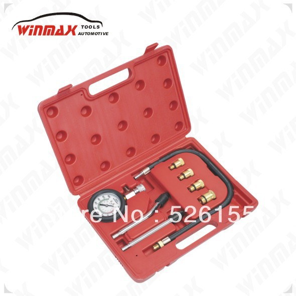 WINMAX Engine Cylinder Compression Tester Gauge Kit M10, M12, M14, M18 Auto Truck Car Repair Tools WT04106(China)