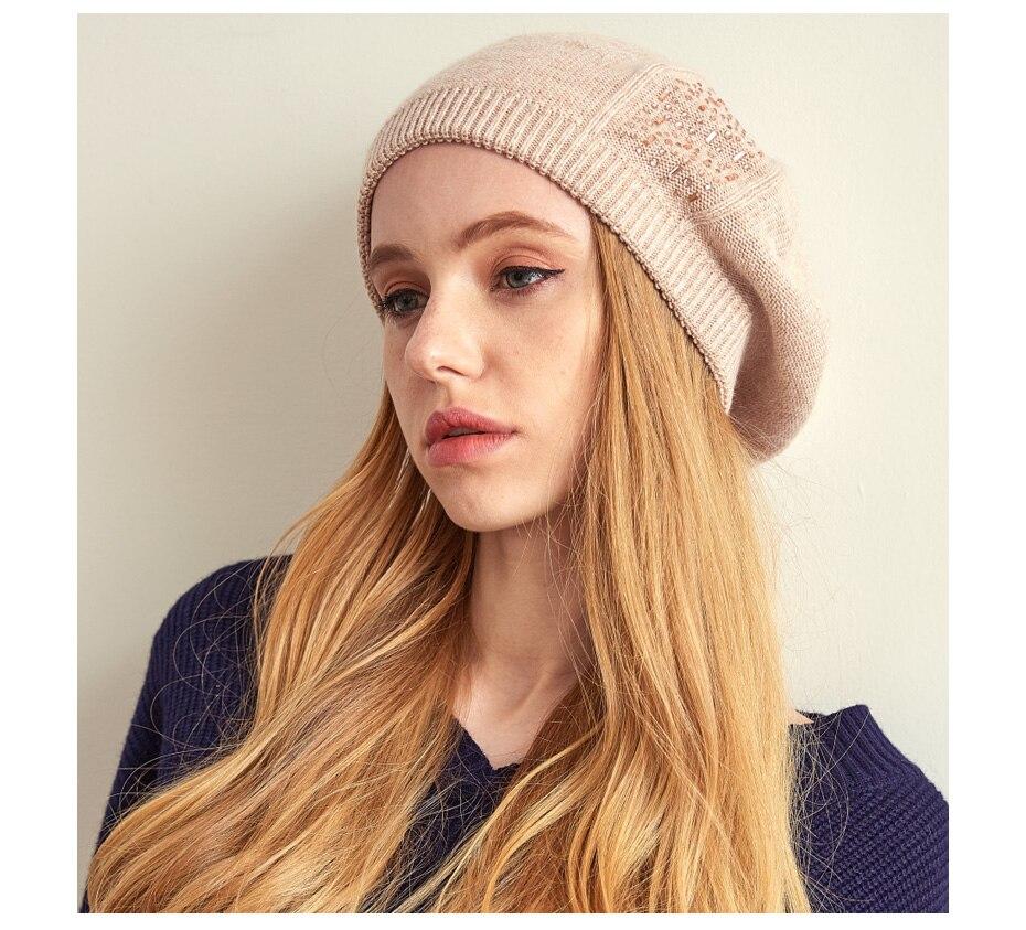 قبعات نسائية عالية الجودة 5