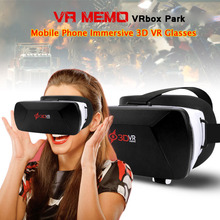 MEMO VRBox Park 3D VR Box 3.0 for Cell Phone Virtual Reality Glasses Goggles 3D Helmet VR Headset Video Glasses with Gamepad