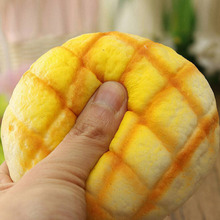 1PC Bread Miniature Fake Pineapple Kawaii Jumbo Squishy Pineapple Cell Phone Charms Soft Hand Pillow Strap DIY Decorative Craft