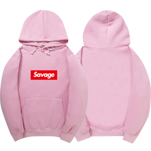 Savage Hoodies Sweatshirt High Quality 1:1 Cotton Long Sleeves Hoody Savage Fashion Skateboard Suprem Hoodie Men Women S-XXL