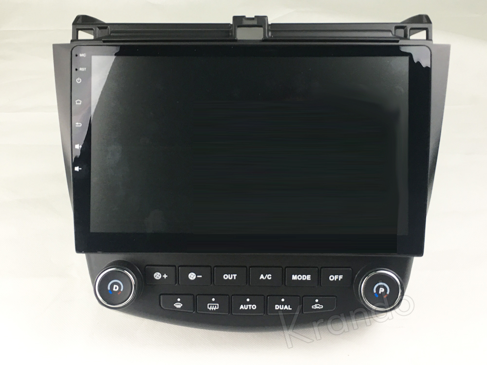 Krando honda accord 7 Android car radio gps navigation multimedia system (5)