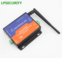 LPSECURITY USR-WIFI232-610 Serial Wifi Converter RS232 RS485 to Wireless 802.11b g n Server Support TCP IP UDP Network Protocols