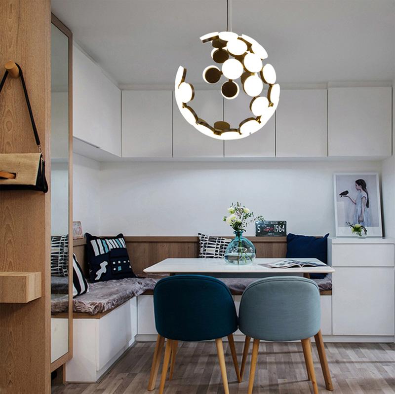 Horsten Nordic Postmodern Creative Pendant Light Art Decoration Personality Dining Room Pendant Lamp LED Hanging Lighting For Cafe Bar (12)