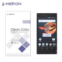 With Retail Package 0.3mm Tempered Glass for SONY Xperia X Compact 4.6'' back 9H 2.5D Transparent Screen Protector +Clean Tools