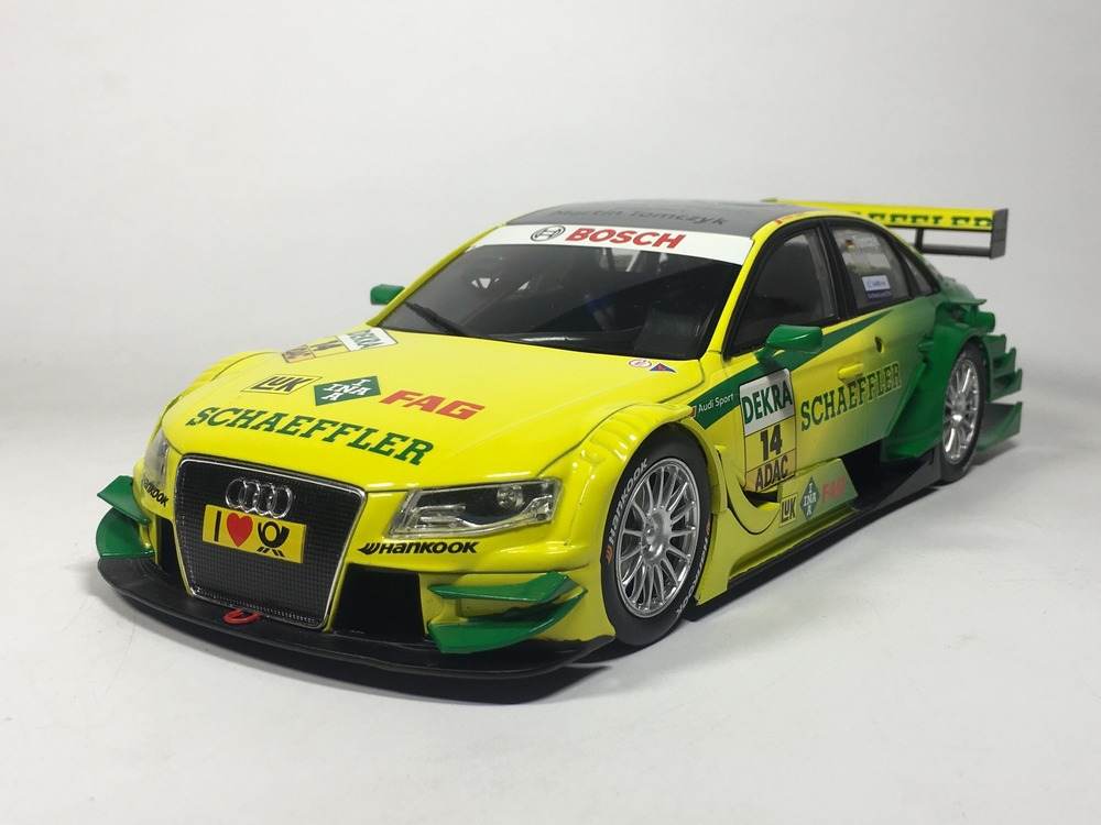 NOREV 1:18 Audi A4 DTM 2011 M. Tomczyk Diecast car model(China)