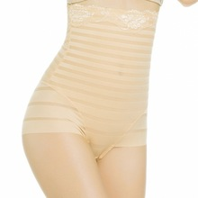 Women's Sexy Sliming Body Shaper Postpartum Pants Fashion Bodysuit Shapewear High Waist Briefs Underwear L-XXL(China)