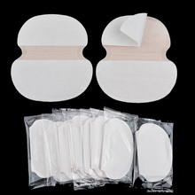 100Pcs Big Size Womens Mens Summer Disposable Underarm Armpit Sweat Pads Absorbing Anti Perspiration Deodorant Absorbing Sticker(China)