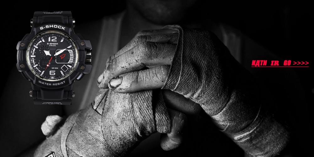 SMAELผู้ชายนาฬิกากองทัพดิจิตอลนาฬิกาสปอร์ตGสไตล์ช็อกนาฬิกาของมนุษย์1438นาฬิกาข้อมือm ontre homme LEDนาฬ... 11