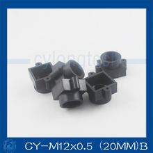 Plastic lens mount M12 lens mount camera lens mount the CCD lens holder Fixed Pitch 20MM.CY-M12*0.5 (20MM)B(China)