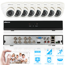 KKmoon Home CCTV System 8ch CCTV Surveillance DVR 800TVL Security Camera System 8 Channel 960H/D1 DVR Video Surveillance Kit(China)