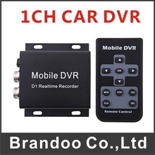 Cheap 1 channel CAR Bus Taxi DVR MDVR D1 Resolution support max 64GB SD Card for Russia Mexico