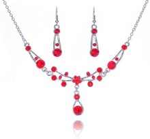 Top quality bridal jewelry sets  wedding jewelry set accessories wedding jewelry sets pendant necklace earrings for women