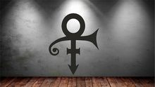 Prince symbol Vinyl Wall Stickers Artistic Design etiqueta pared vinilo Wall Decal Home Decoration Wallpaper autocollant SA988