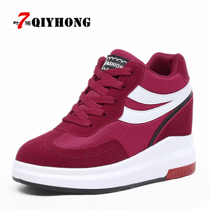 QIYHONG 2018 High Quality Women Boots Winter Casual Brand Warm Height Increase Shoes Women Leather Suede Flats Boots Woman<br>