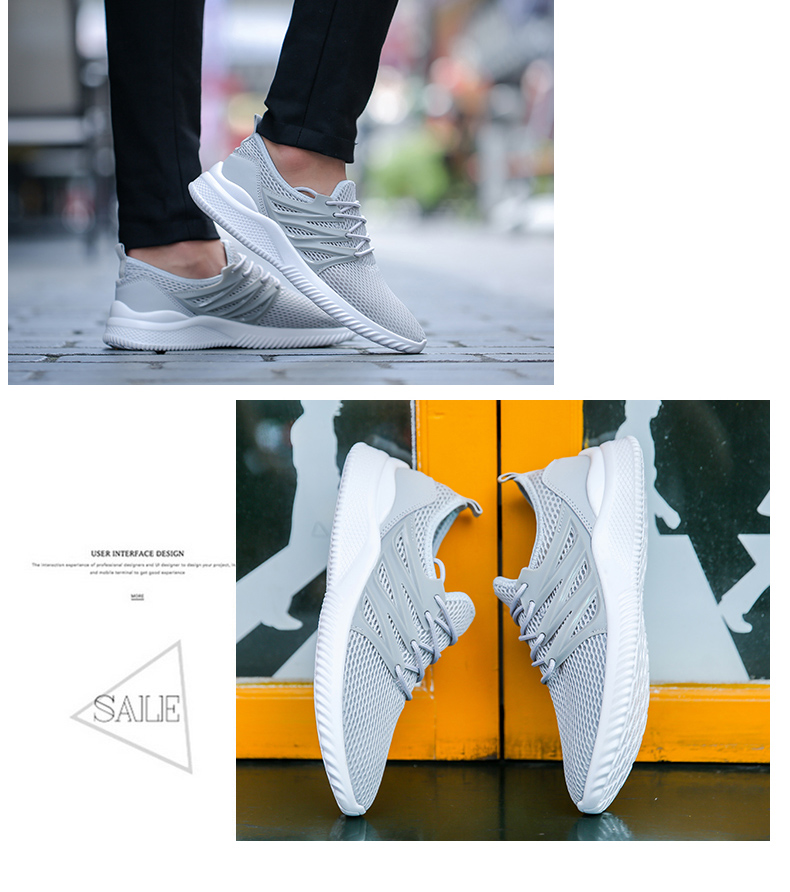 2018 New Arrivals Men's Fashion Summer Casual Shoes Man Sneakers Breathable Trainers Male Footwear Adult Krasovki Plus Size 45 52 Online shopping Bangladesh