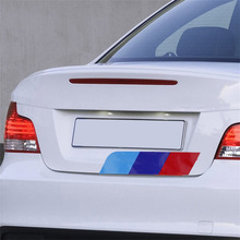 Universal Car-Styling 3 Colors PVC Car Sticker Rear Car Sticker for BMW 3s/5s/X1/X3M Fashion(China)