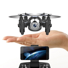 Gteng T906W Mini RC Drone with Camera HD RC Drone Quadcopter Remote Controrl Helicopter Hold Altitude Quadcopter Toy for Boys(China)