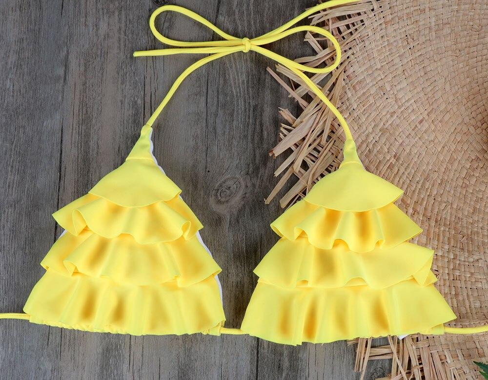 NEW Brazilian Bikini Set Sexy Push Up Swimwear Women's Swimsuit Bathing Suits Swimming Suit For Women Maillot De Bain E045 22