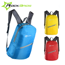 ROCKBROS MTB Cycling Backpack Outdoor Sports Portable Folding Waterproof Bicycle Accessories 3 Colors