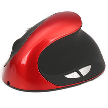 Best Price 6D Wireless Ergonomic Design Vertical 2400DPI USB Mice Mouse For Laptop PC(China)