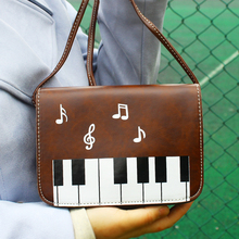 Women Bags Piano Pattern Lady Crossbody Shoulder Bag Mini Cell Phone Keys Bags Messenger Flap Cover Bag Good Quality Money Purse