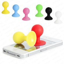 2017 Rubber Silicone Ball Holder Octopus Suction Sucker Phone Desktop Stand Cradle For Iphone for  Xiaomi for Samsung