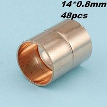 14mm I.D.Copper Fitting 48pc HVAC Coupling rolled CxC(China)